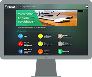Intellect Business Process Management Platform Dashboard